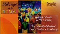 Mercredi 30 de 20:00 à 23:00 – Milonga de la Vecindad