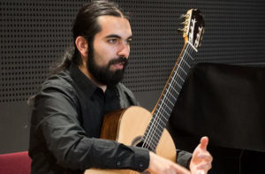 vendredi 27 de 21:00 à 22:00 – Sébastian Carrasco – Guitarre