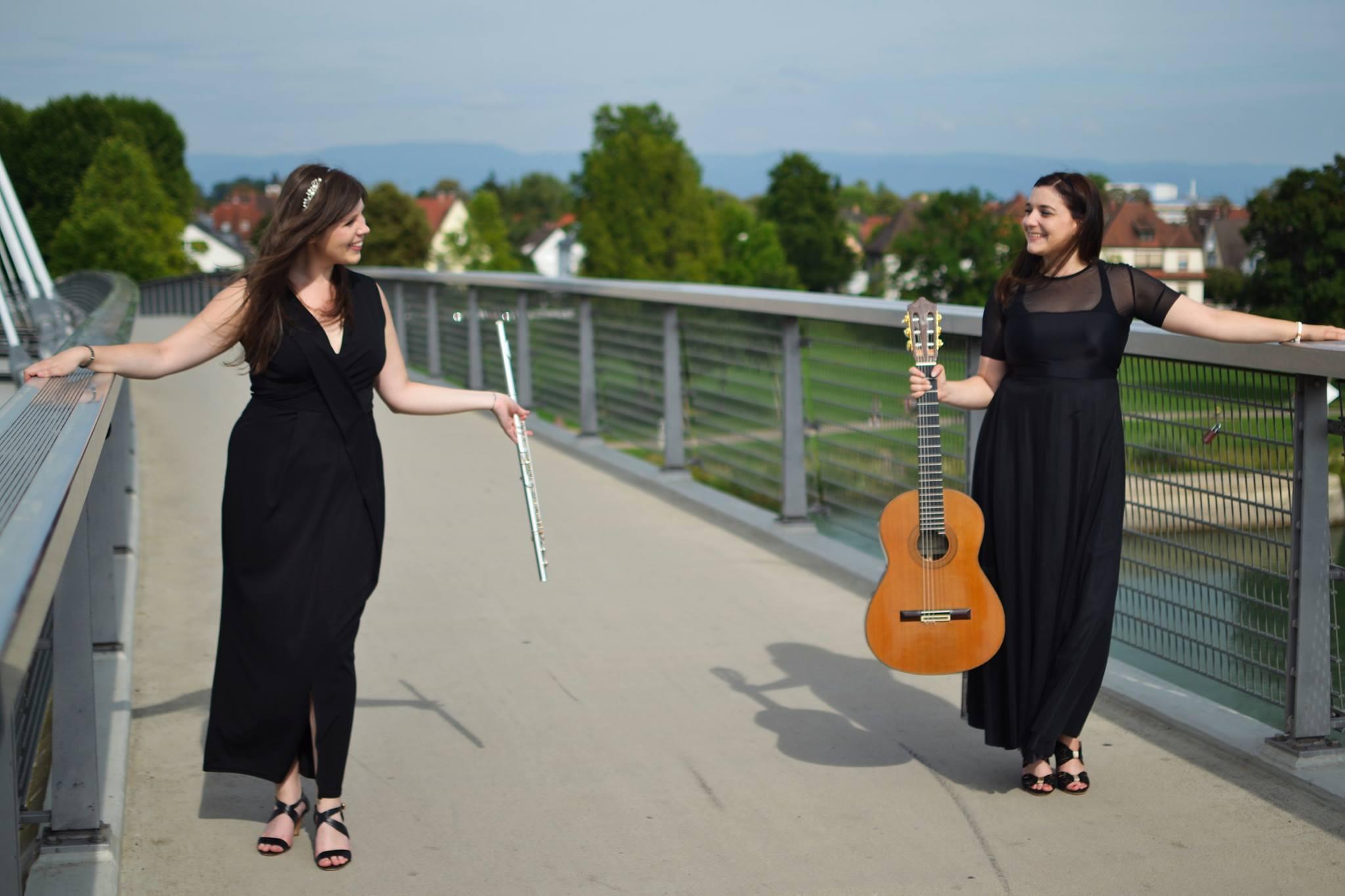 Vendredi 23 – 20h à 22h – Duo Amasia : Laura Matz et Nora Gundersen