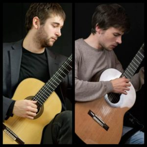 Vendredi 23 – 21h à 22h – Paul Bizot et Timothée Ruetsch – Guitares