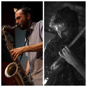 Vendredi 9 – 21h à 22h – Diego Manuschevich, saxo et Diego Aguirre, guitare