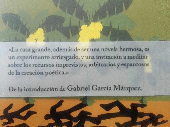 Mardi 23 – 20h à 22h – Lectura de «La casa grande» novela de Álvaro Cepeda Samudio