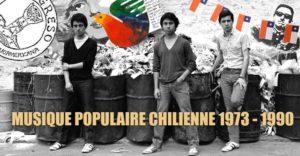 Mardi 27 – 20:00h à 22:00h – Musique populaire chilienne 1973-1990