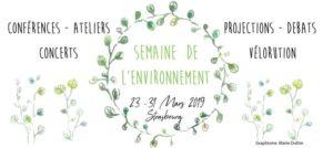 Samedi 23 – 18:00 hrs – Semaine de l'Environnement 2019