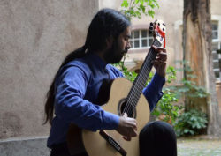 Sebastián Carrasco à la soirée du Café Latino Vendredi 17 à 21h
