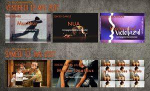 Vendredi 12 à 21h30 – Violeta Azul concert à l'Espace K