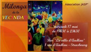 Read more about the article Mercredi 17 à 19h30 – Milonga de la vecindad