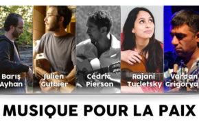 vendredi 8 de 21:00 à 22:00 – Baris Ayhan – Musique pour la Paix