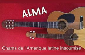 Read more about the article jeudi 26 de 20:30 à 22:00 – ALMA – Cantos de América latina