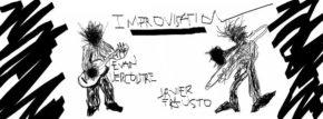 Vendredi 16 – 21h à 22h – Concert – Impro Evan Vercoutre à la guitare et Javier Frausto au trombone
