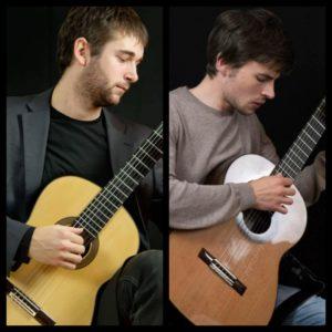 Vendredi 23 – 21h à 22h – Paul Bizot et Timothée Ruetsch – Guitares