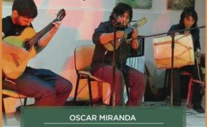 Jeudi 29 – 22h à 23h30 – Trio Oscar el Inca Miranda