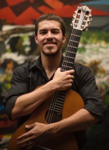 Vendredi 26 – 21h à 22h – Juan Camilo Palacino guitariste colombien