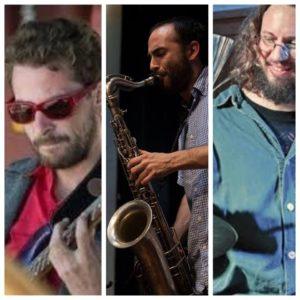 Vendredi 19 – 21h à 22h – Trio Jazz Guitare Saxo Percussion