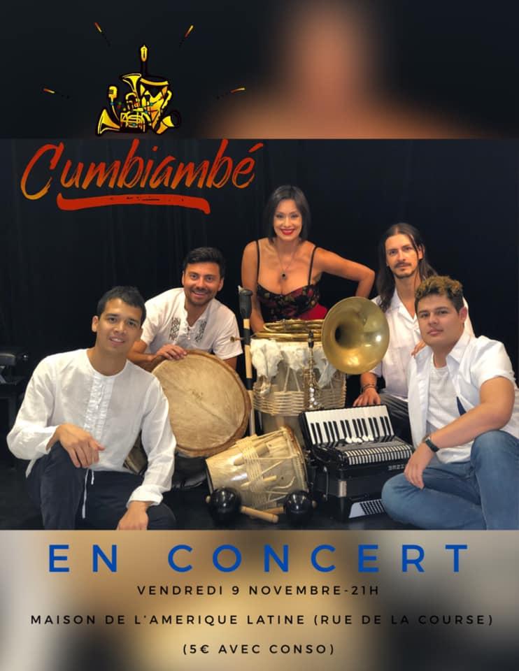 Vendredi 9 – 19:00h à 23:00h – Fiesta Cumbia