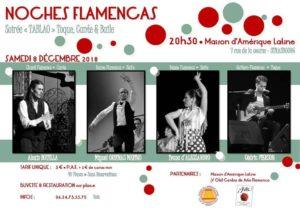 Read more about the article Samedi 8 – 19:00 à 20:00 – Tablao flamenco – Y Olé au Café Latino