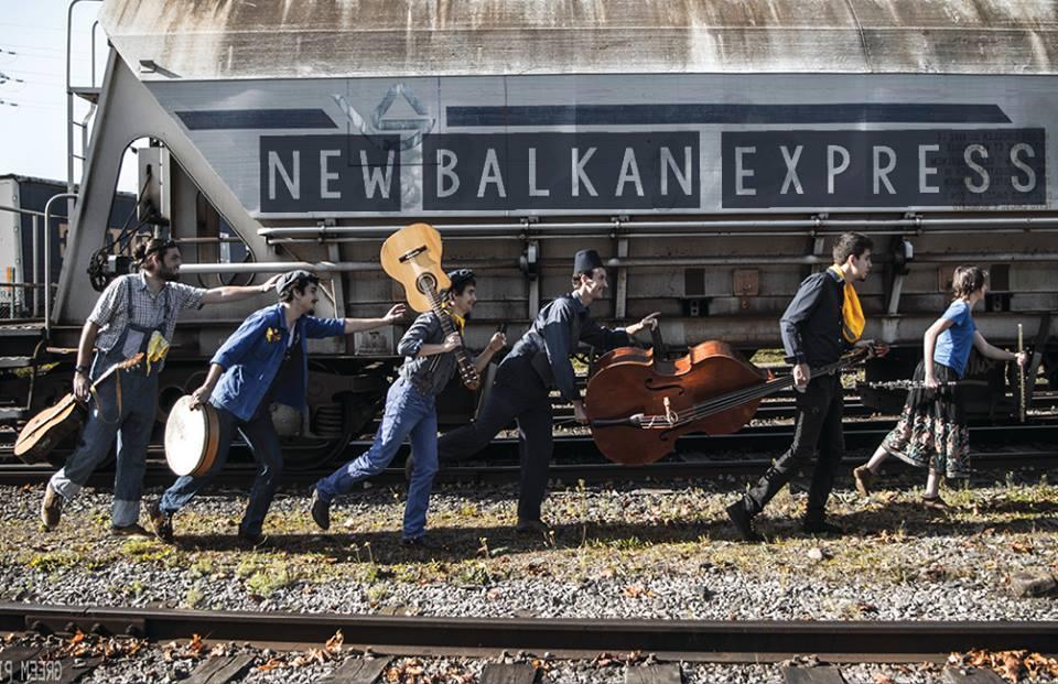 Vendredi 18 – 21:00 à 22:00hrs – New Balkan Express au Café Latino